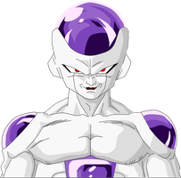 Frieza Form 4 by Yholl