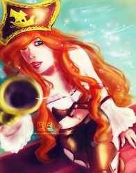 Miss Fortune by Hamandha