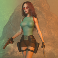 Classic Raider 134 by tombraider4ever