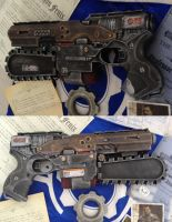 Gears of War pistol mod Nerf gun / toy saw by GirlyGamerAU