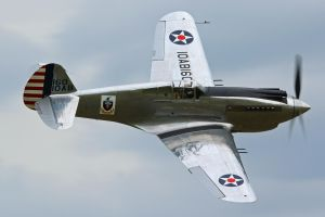 Curtiss P-40C Warhawk by Daniel-Wales-Images