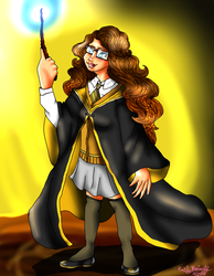 Squad and Friends as Hogwarts Students: Emily (me) by lollypop081