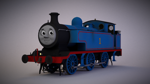 NWR No.1 Thomas by explosivecookie
