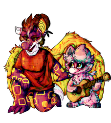 Not The Right Chord by GlitterGlueGlaireous