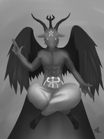 Baphomet by CrazyNat2012
