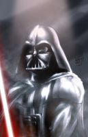 Darth Vader by particle9