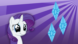 Rarity Wallpaper by Hambone0326