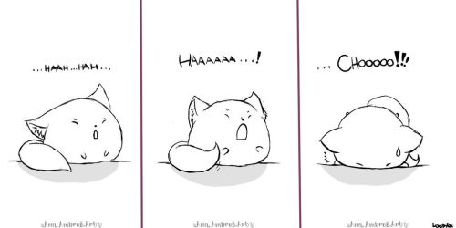 Fat Cat No. One : Sneezing by AnaPunda