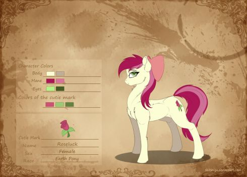 [Concept of the Character] Roseluck by Skitsniga