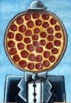 PIZZA FACE by ckoffler