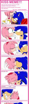 Sonic and Amy Kiss Meme by AiSonikkuXEmmy