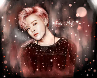 BTS Jimin New Wings Concept Fanart [Commission] by KekeLiv