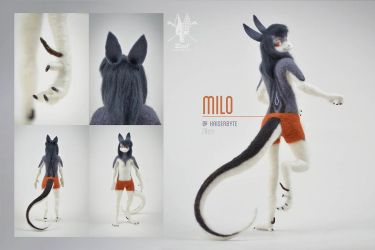[AT] Milo by ZimtBeadwork