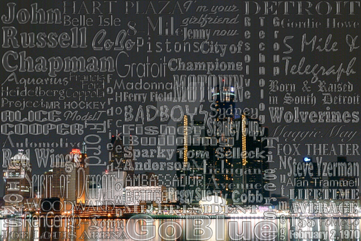 Detroit Typography by AliceGraphix