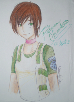 Rebecca Chambers by bloody-goodness