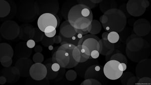 Blur Dot Black by soneyboy