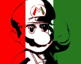 Mario represents Italy by TheGamingArchivist