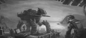 mecha by Or1s