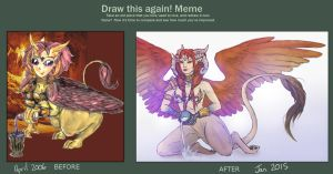 Draw This Again Meme by GoredGuar