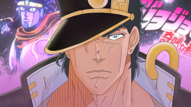 Kujo Jotaro from JoJo Stardust Crusaders (Part 3) by iZN1337