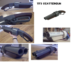 Team Fortress 2 Scattergun prop by Zodiacx10