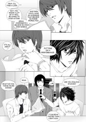 Death Note Doujinshi Page 121 by Shaami