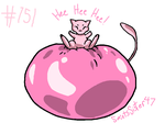 #151 Mew by SaintsSister47