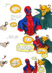 Interview Two:  Etrigan and Deadpool by Demorta