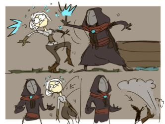 The Witcher 3, doodles 104 by Ayej