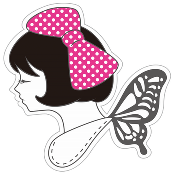 Dotted Girl (logo) ID by You-Ta