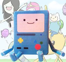 BMO - Papercraft by Aninsey