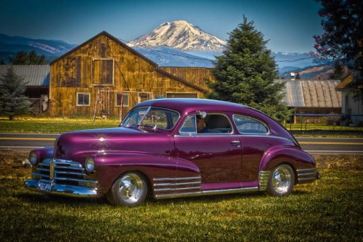Car Stock - 1948 Chevy Fleetline by MichellesParanormal
