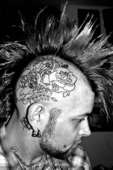 i got my head tattooed... by D66MSD6Y