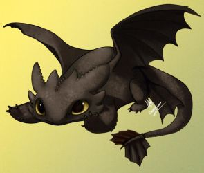 Toothless Sticker by chutkat