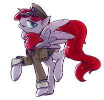 COMMISSION: Air Raid by InLucidReverie
