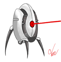 Portal Turret by SuperKingC777