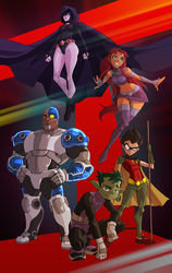 TeenTitans WRR by will-Ruzicka