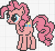 pinkie pie pattern by Sailor-Phantom