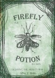 Firefly Potion by Fdnicholas