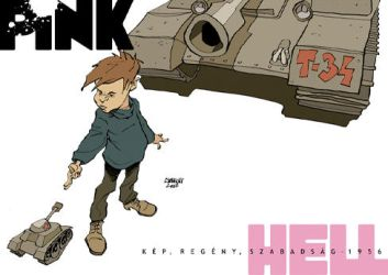 PinkHell No.4 front cover B by PinkHellComics
