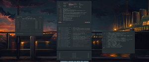 [arch] [bspwm] March 2017 by f-s0ciety