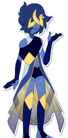 Lazuli's Homeworld Outfit by iPhysik