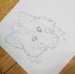 Angels Headshot WIP by InsaneRoman