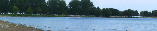 Lake St. Clair Panoramic by electricjonny