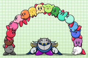 Kirby Rainbow by Sirometa