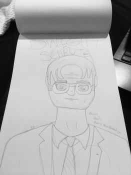 Dwight K. Schrute by ArtisticGoat123