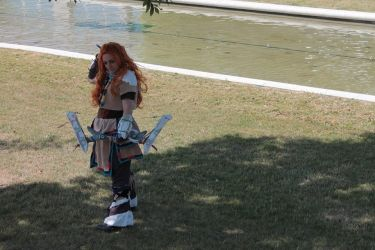 Cosplay Aloy Horizon Zero Dawn - Japan Expo 2017 by Kailyce
