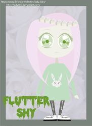 Fluttershy by LaDyLaIn