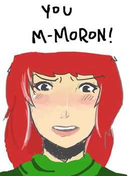 M-moron! by lonelyonafriday