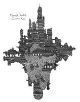 Flying citadel by S-A-R-C